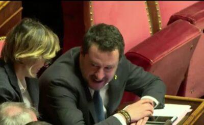 """Unia Europejska i Włochy mają ze sobą coraz gorsze relację. Matteo Salvini, były wicepremier Włoch i lider włoskiej partii """"Liga""""..."""