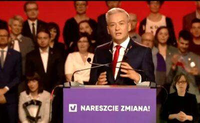 Robert Biedroń, kandydat lewicy na wybory prezydenckie 2020 właśnie ogłosił, że stanowisko jakim jest doradca ds międzynarodowych otrzymał Stanisław Ciosek