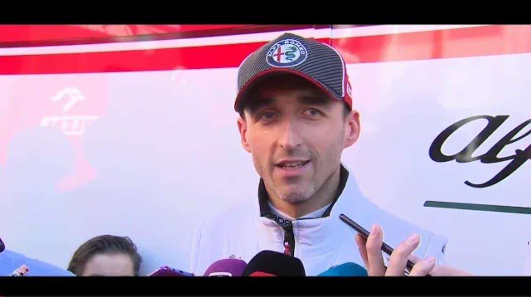 Formuła 1: Robert Kubica z Alfa Romeo Racing Team uzyskał najlepszy wynik czasowy na torze Catalunya w Barcelonie