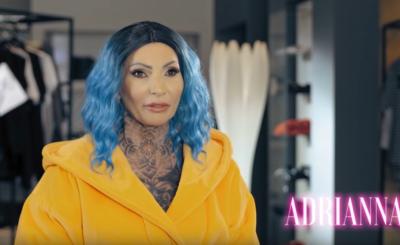 Królowa życia, Adrianna Eisenbach pokazała jak wyglądała nago zanim na jej ciele pojawiły się tatuaże i trzeba przyznać, że metamorfoza jest gigantyczna!