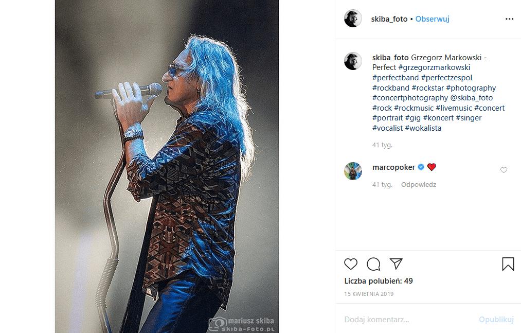 """""""Perfect"""" kończy działalność, bo Grzegorz Markowski odchodzi z kapeli. Koniec zespołu """"Perfect"""" nastąpi po ponad 40 latach działalności"""