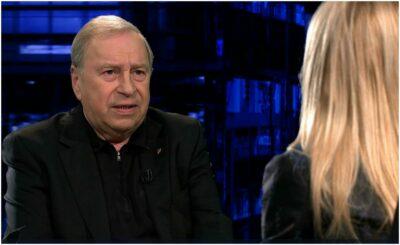 Jerzy Stuhr to aktor,który wyraźnie nie przepada za aktualnie rządzącą parią Prawo i Sprawiedliwość (PiS), Tomasz Lis przeprowadził z nim wywiad