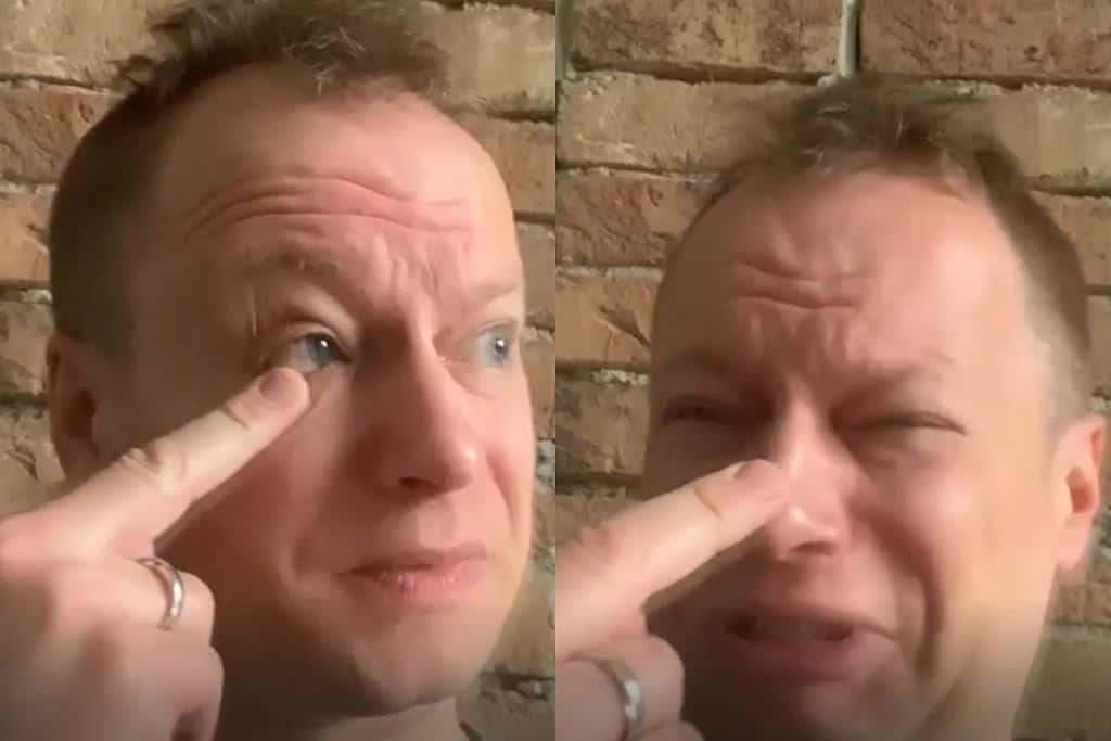 Maciej Stuhr na oficjalnym profilu na Instagram parodiuje gest Lichockiej, który wywołał skandal w Sejmie. Środkowy palec posłanki to teraz temat numer 1