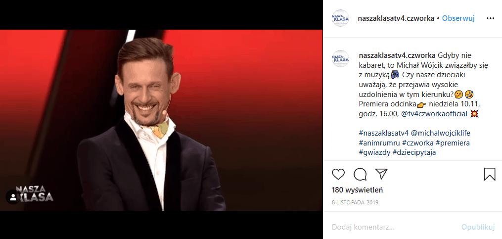 """Michał Wójcik (Kabaret """"Ani Mru Mru"""") jest bankrutem bowiem został okradziony przez managera i stracił fortunę. Teraz dochodzi swoich praw"""