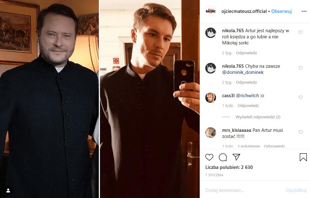 """Artur Żmijewski odniósł się do plotki, że odszedł z serialu """"Ojciec Mateusz"""" (TVP), a jego rolę zagra Mikołaj Roznerski. Fani odetchnęli z ulgą"""