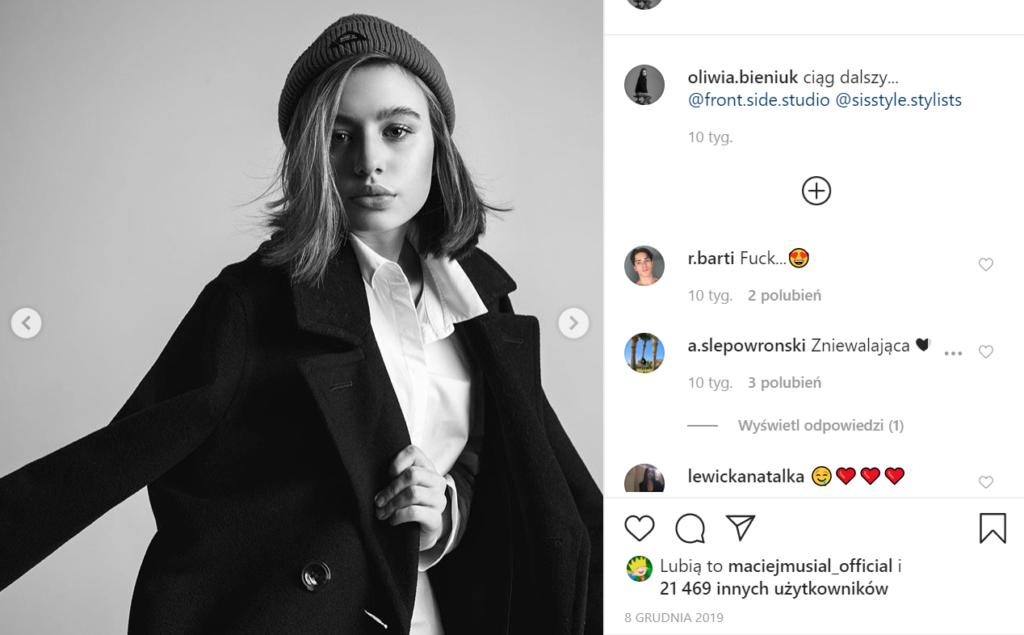 Oliwia Bieniuk płacze bo bardzo tęskni - Anna Przybylska jej śmierć była traumą. Oliwia Bieniuk ma dużo zdjęć na koncie Instagram gdzie jest podobna do mamy