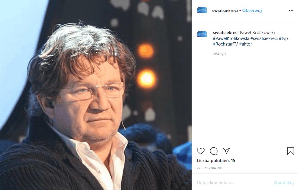"""Paweł Królikowski, jego choroba i stan zdrowia to teraz nr 1- w oczekiwaniu na nowe informacje aktora """"Ranczo"""", przypominamy wywiad gdzie tematem była wiara"""