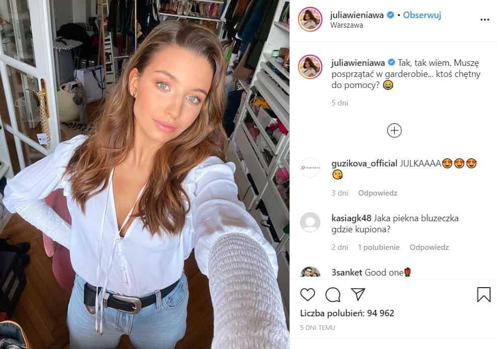 """Wieniawa to młoda gwiazda, znana serialu Rodzinka.pl, wkrótce będzie brylować w programie """"Taniec z Gwiazdami"""", pokazała na Instagram jak i gdzie mieszka"""