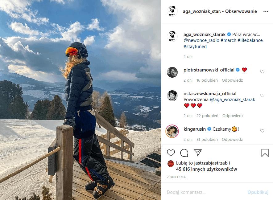 Agnieszka Woźniak-Starak była jeszcze niedawno w żałobie, teraz na Instagram ogłosiła, że wraca do pracy, jednak nie wiadomo czy do TVN