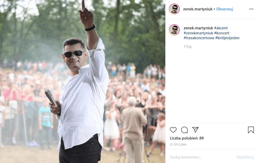 Zenek Martyniuk i jego piosenki są teraz na topie, ale szczęście prysło gdy rodzinną uroczystość przesłonił rodzinny dramat, bo jego mama była chora