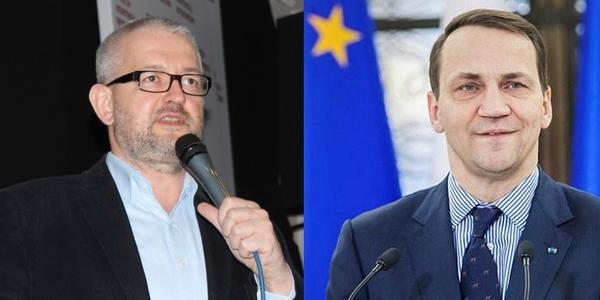 Rafał Ziemkiewicz - dziennikarz, publicysta TVP i portalu DoRzeczy i Radosław Sikorski - były minister spraw zagranicznych, starali się ze sobą na Twitterze