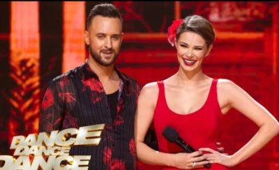 """Małgorzata Tomaszewska i Olek Sikora odpadli ze show TVP - """"Dance Dance Dance"""". Dla ich fanów ostatnia sobota była bez wątpienia bardzo ciężka."""