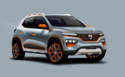 Targi w Genewie: Dacia, która zapowiedziała nowy model Spring- samochód elektryczny, rumuński koncern będzie dzięki niej najtańsza na rynku.