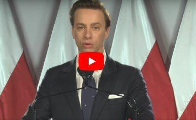 Wybory prezydenckie 2020:: Konwencja wyborcza Krzysztofa Bosaka, była inna niż wszystkie: Bosak, kandydat na prezydenta o programie i na temat koronawirusa