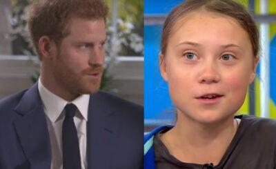 Skandal jakiego jeszcze nie było: Książę Harry myślał, że dzwoni do niego Greta Thunberg, okazało się że to prowokacja. Tabloid opublikował treść rozmowy