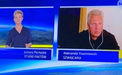 Aleksander Kwaśniewski był gościem TVN, tematem był koronawirus, jednak przy okazji wypowiedział się o wyborach i oczywiście PiS, słowa o wirusie zaskoczyły