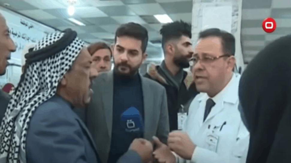 Podczas wywiadu na żywo Irakijczyk krytykował służbę zdrowia, nagle mężczyzna zmarł na wizji. To pierwszy taki przypadek.