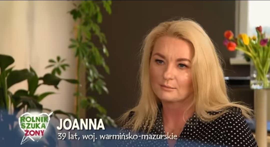 """Joanna to nowa gwiazda """"Rolnik szuka żony 7"""" w TVP, która zgłosiła się się do programu z wielką nadzieją, że Marta Manowska pomoże jej."""