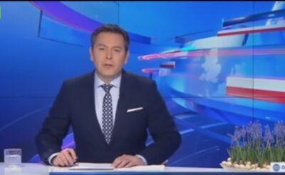 Wybuchł skandal po tym jak Wiadomości TVP zrelacjonowały jak Jarosław Kaczyński 10 kwietnia odwiedza groby, Ilona Łepkowska zwróciła na to uwagę.