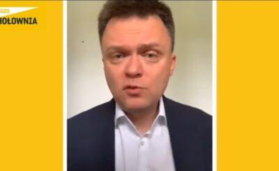 Wybory prezydenckie 2020: Szymon Hołownia wypowiedział się na temat słów byłego lidera PO, którym jeszcze w 2014 roku był Donald Tusk.