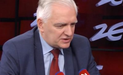 Koronawirus w Polsce: wyciekło nagranie, na którym Jarosław Gowin neguje pomysł PiS, chodzi o stan klęski żywiołowej w Polsce. Szokujące słowa