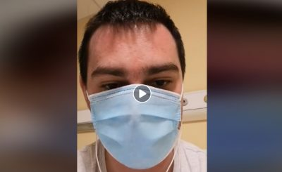 Koronawirus w Polsce: Pewien pacjent zamieścił w mediach społecznościowych nagranie z polskiego szpitala, tak wygląda walka z COVID-19