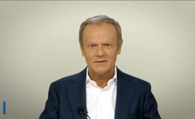 """Donald Tusk przewodniczący Europejskiej Partii Ludowej napisał żart o tym czy jest demokracja na Białorusi - """"Bardzo śmieszne"""" - skwitował"""