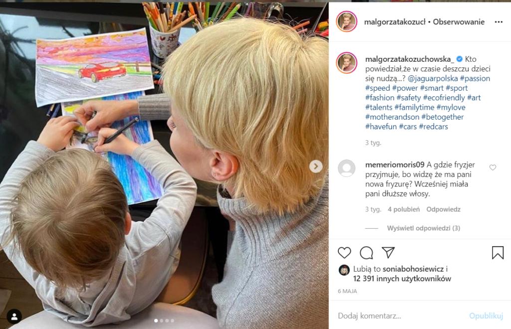 Małgorzata Kożuchowska zdobyła się na szczere wyznanie, gwiazda TVP i serialu Rodzinka pl stwierdziła, że mało brakowało, a ominęła by ją ciąża i dziecko.