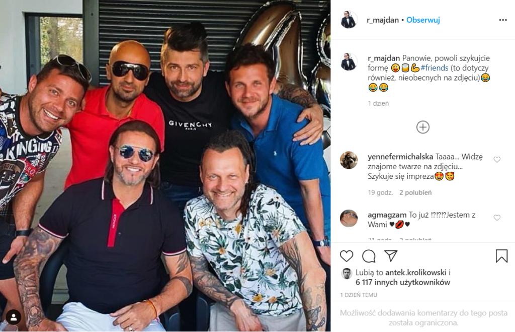 Radek Majdan opublikował jednoznaczne zdjęcie w serwisie Instagram, czy to oznacza, że Małgorzata Rozenek-Majdan już urodziła dziecko?