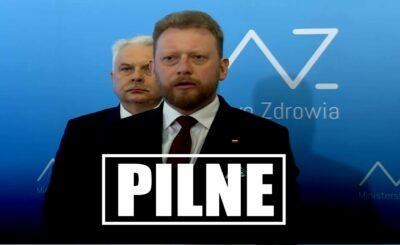 Łukasz Szumowski zwołał konferencję i ujawnił prawdę, opozycja twierdzi, że minister nadzorował NCBiR i wystąpił oczywisty konflikt interesów.