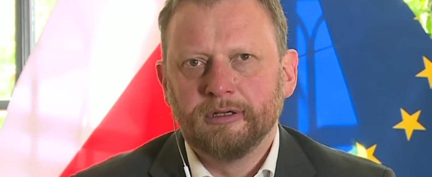 Łukasz Szumowski o koronawirusie: wskazał, że nastąpiła by u nas już tendencja spadkowa i malejąca ilość zachorowań gdyby nie sytuacja na Śląsku