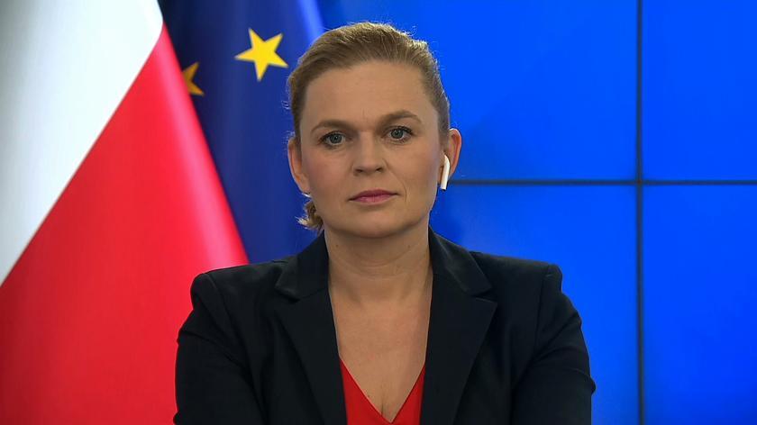 Barbara Nowacka była w centrum wydarzeń gdy na sali sejmowej wybuchła awantura. Posłowie opozycji stracili panowanie nad sobą.