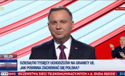 Wybory prezydenckie 2020: Andrzej Duda w TVP odpowiedział na żądania kandydata Lewicy, Robert Biedroń wezwał prezydenta do publicznych przeprosin.