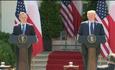 Wybory prezydenckie 2020: Andrzej Duda i Donald Trump w spotkali się w Środę w Waszyngtonie. Co ustalili prezydenci obu krajów?