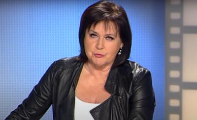 """Po krótkiej przerwie, którą spowodował koronawirus Elżbieta Jaworowicz wraca do pracy w TVP i nagrywa nowe odcinki swojego programu """"Sprawa dla reportera""""."""