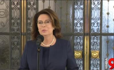 Wybory prezydenckie 2020: Małgorzata Kidawa-Błońska ponad miesiąc temu została zastąpiona przez prezydenta Warszawy (Rafała Trzaskowskiego)