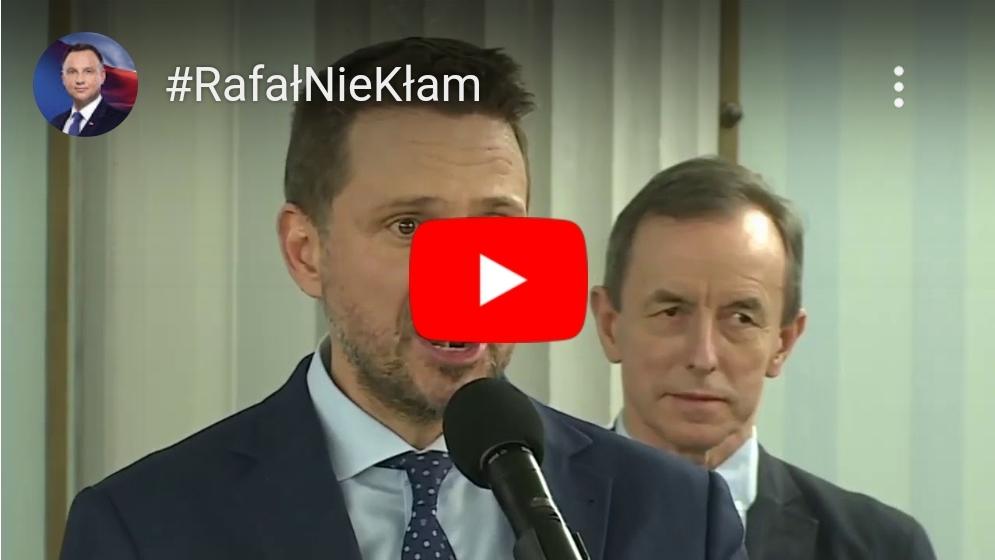 Wybory prezydenckie 2020: Sztab PiS i Andrzeja Dudy zaprezentował spot, z którego Rafał Trzaskowski nie będzie raczej zadowolony.
