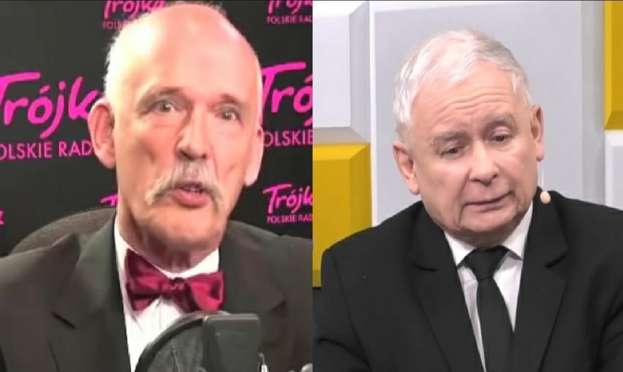 Janusz Korwin-Mikke i Jarosław Kaczyński to dwaj politycy, którzy często są przypisywani po prawej stronie układu politycznego w naszym kraju