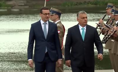 Szczyt Unii Europejskiej: Premier Węgier Victor Orban chwali Mateusza Morawieckiego podczas szczytu w Brukseli, Grupa Wyszehradzka zatrzymała zapędy UE.