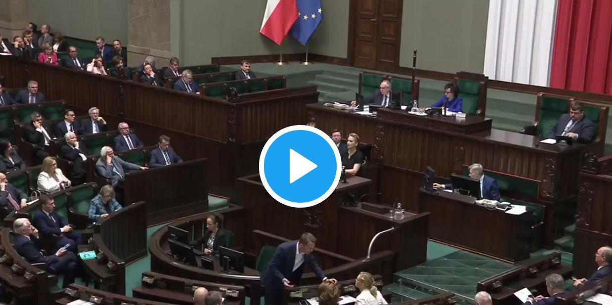 Sejm: Elżbieta Witek i Joanna Scheuring-Wielgus starły się po wyborze przez Sejm na przewodniczącego komisji do spraw pedofilii prof. Błażeja Kmieciaka.