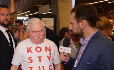Wybory prezydenckie 2020: Lech Wałęsa kilka miesięcy temu w mediach społecznościowych zamieścił wpis, w którym to obiecał, że przeprowadzi marsz na stolicę