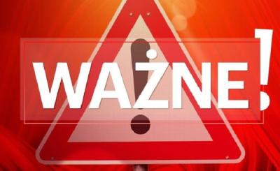Zagrożenie życia i zdrowia dla części regionu Polski nadal istnieje, miasto i gmina Wieliczka informują o tym w serwisie Facebook.