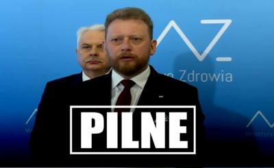 Koronawirus: Minister zdrowia Łukasz Szumowski zapowiedział, że niedługo przeprowadzone będą masowe kontrole, mogą czekać nas kary finansowe.
