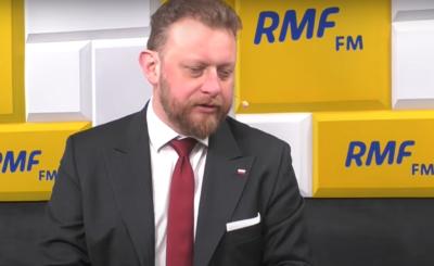 Koronawirus: Minister zdrowia Łukasz Szumowski podkreślił, że cały czas obowiązuje obowiązek noszenia maseczek ochronnych.
