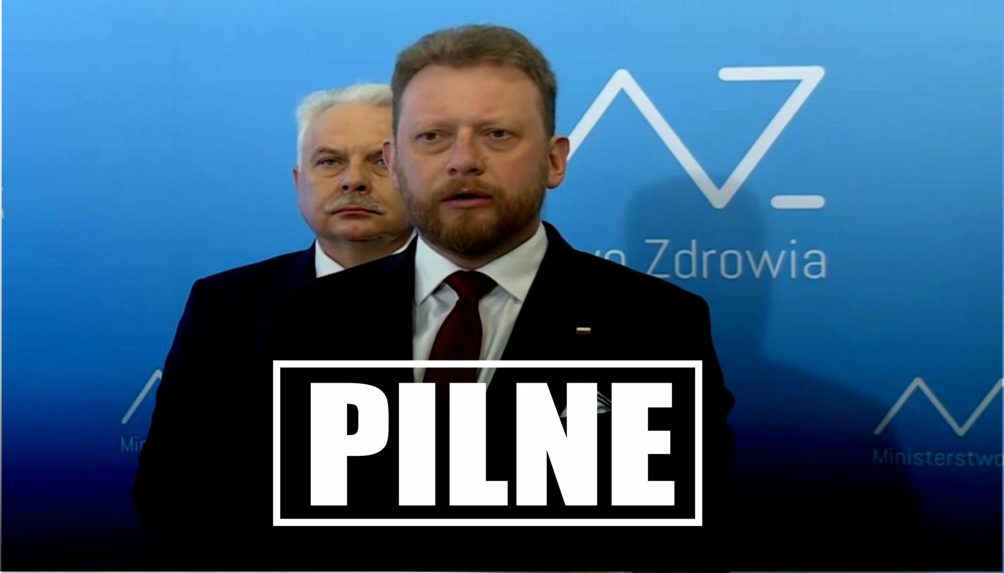Epidemia Koronawirusa: Minister zdrowia Łukasz Szumowski potwierdził, ze zostaną wprowadzone nowe obostrzenia. Spowodowane jest to dużą ilość zarażeń.