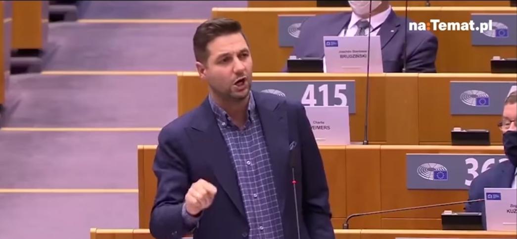 Patryk Jaki, europoseł z ramienia PiS do Parlamentu Europejskiejego zabrał wczoraj głos na temat kwestii praworządności w Polsce. Nie jest żadną nowością...