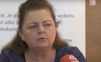 Renata Beger będąca z partii Samoobrona, tej samej co Andrzej Lepper - wróciła i protestuje przeciwko PiS, jej metamorfoza powala