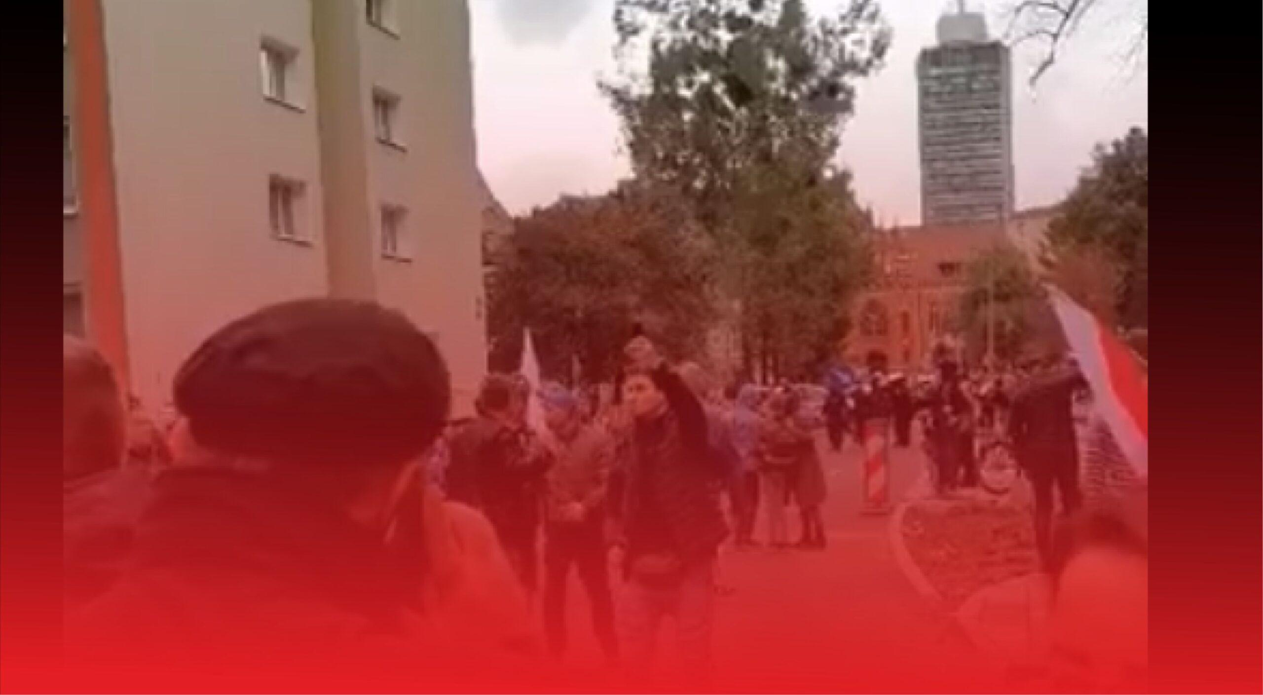 """W całym kraju odbył się """"Marsz o Wolność"""", miało miejsce starcie z policją, użyto wobec ludzi gazu pieprzowego, będą wnioski o ukaranie"""