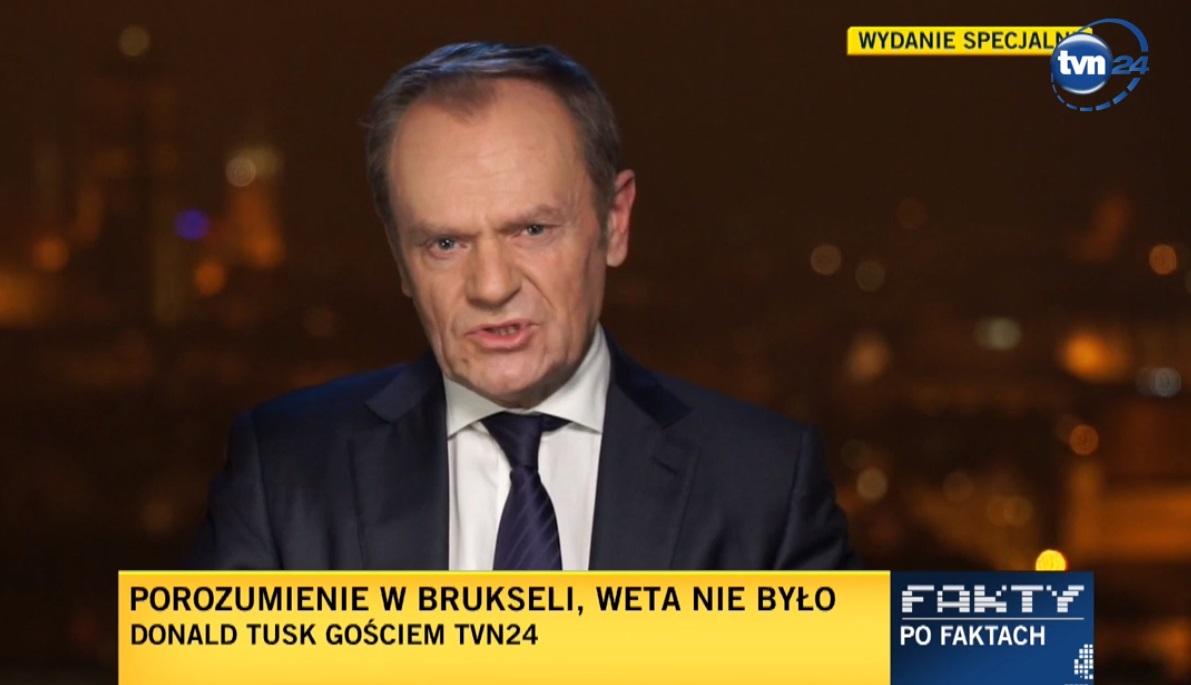 Donald Tusk w telewizji TVN wypowiedział wiele krytycznych słów o PiS i sytuacji w Polsce, chwalił Lempart, czy szykuje powrót?