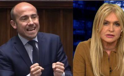 """Monika Olejnik prowadząca słynny program """"Kropka nad i"""", stwierdziła że Borys Budka może powinien już podać się do dymisji"""